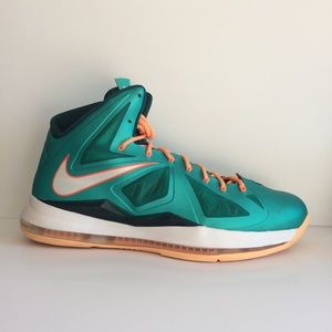 Lebron Miami Dolphin Atomic Teal NIKE Men's SZ 14